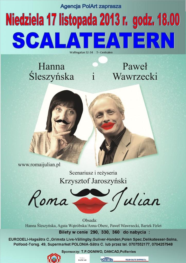 Roma i Julian plakat1