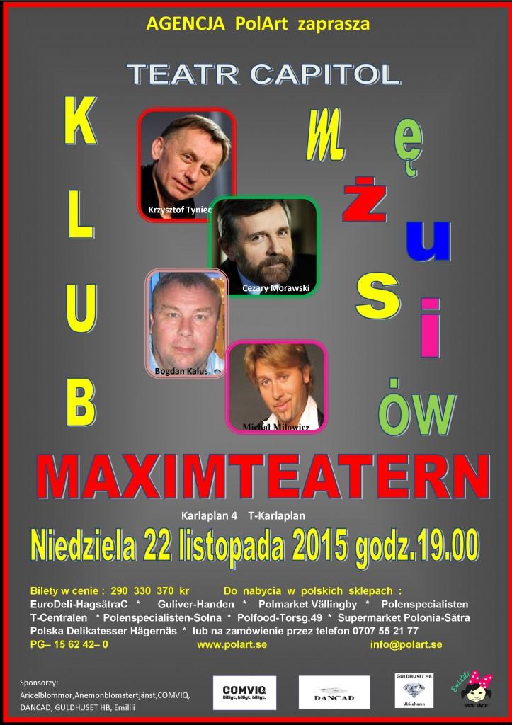 kLUB MEZUSIOW plakat na str.Polart