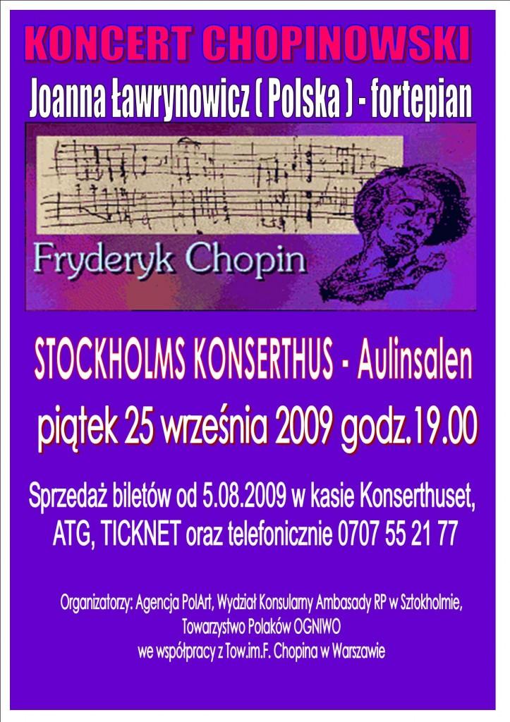 plakat Chopin PL