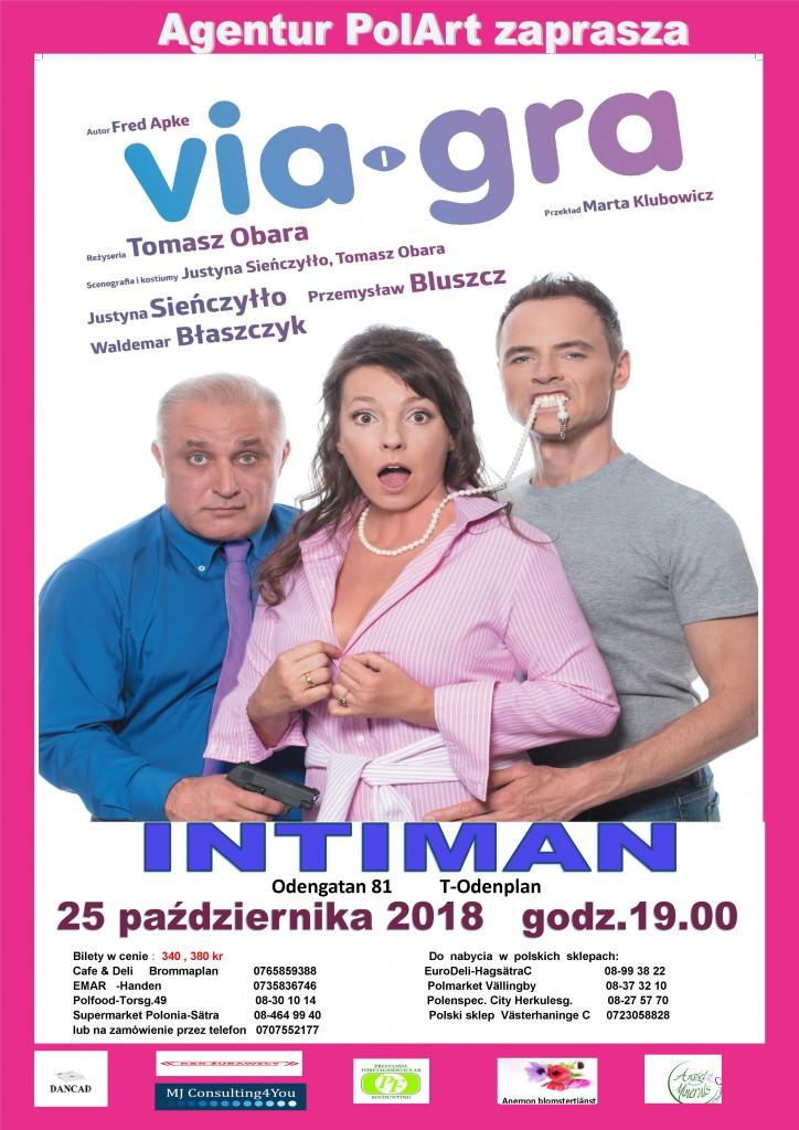 plakat Viagra rozowy1